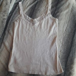 Express Small Tank/cami Beige/cream